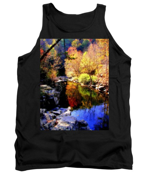 Splendor Of Autumn Tank Top by Karen Wiles