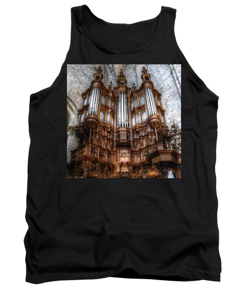 Spooky Organ Tank Top