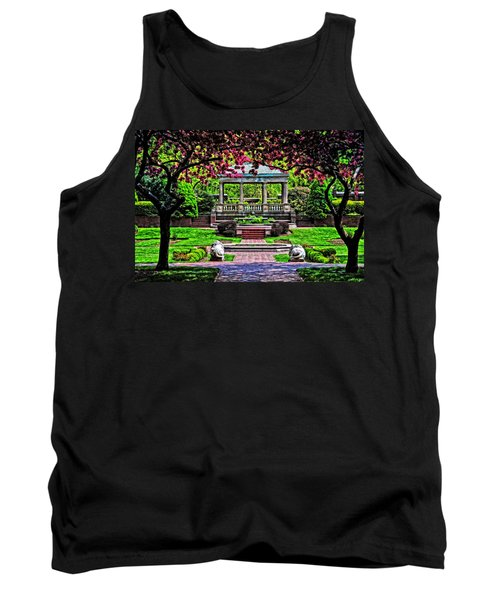 Spring At Lynch Park Tank Top by Mike Martin