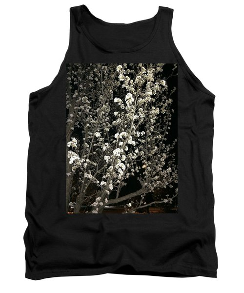 Spring Blossoms Glowing Tank Top