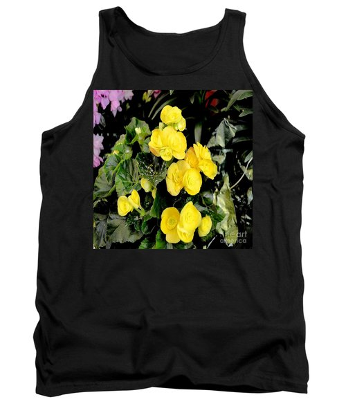 Tank Top featuring the photograph Spring Delight In Yellow by Luther Fine Art
