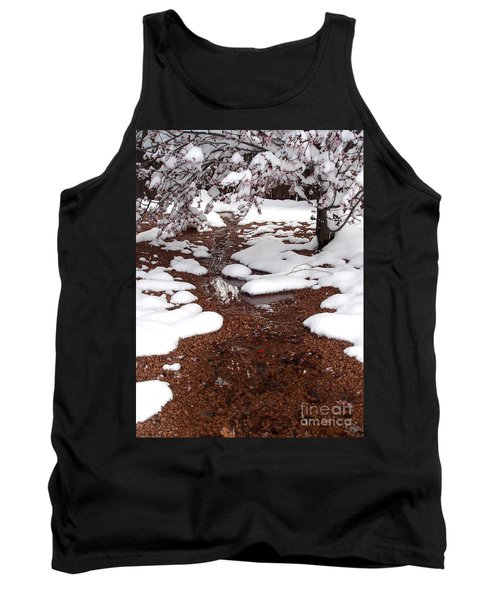 Tank Top featuring the photograph Spring Into Winter by Kerri Mortenson