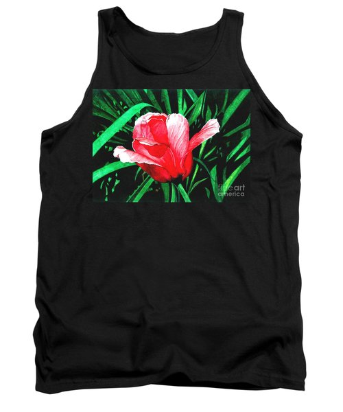Tank Top featuring the painting Spring Solo by Barbara Jewell