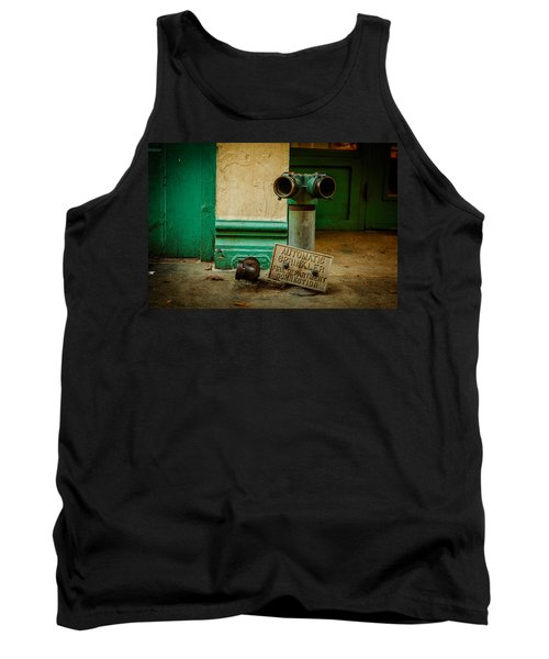 Sprinkler Green Tank Top