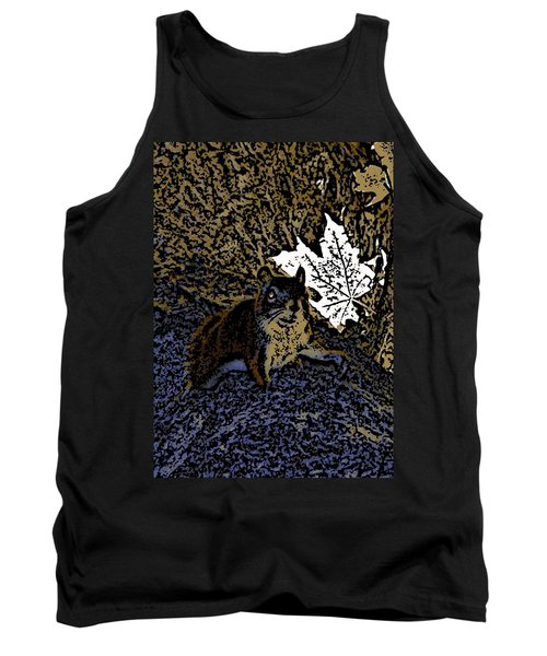 Squirrel Tank Top by Jason Lees