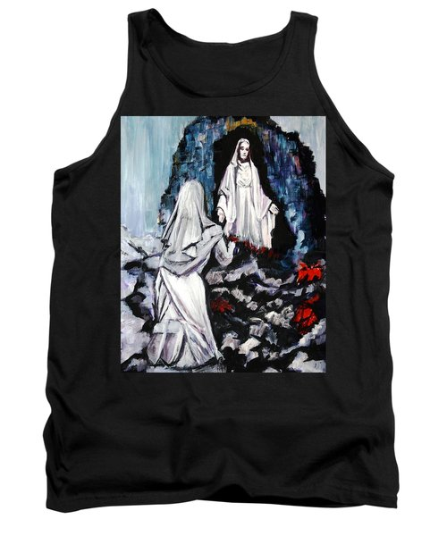 St. Bernadette At The Grotto Tank Top