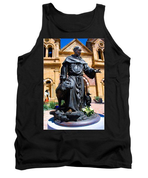 St Francis Of Assisi - Santa Fe Tank Top