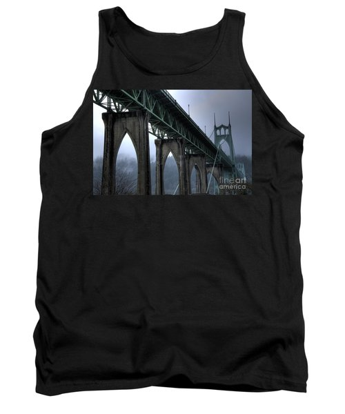 St Johns Bridge Oregon Tank Top
