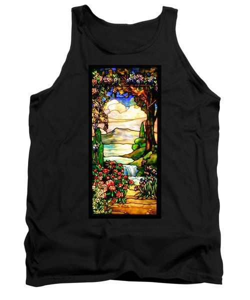 Stained Glass Tank Top by Kristin Elmquist