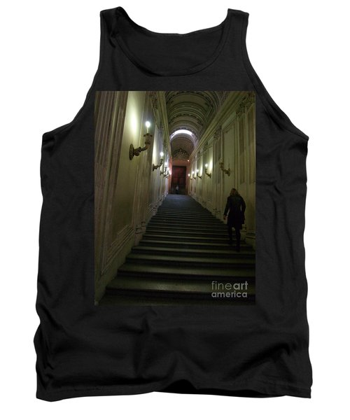 Tank Top featuring the photograph Stairway  by Robin Maria Pedrero