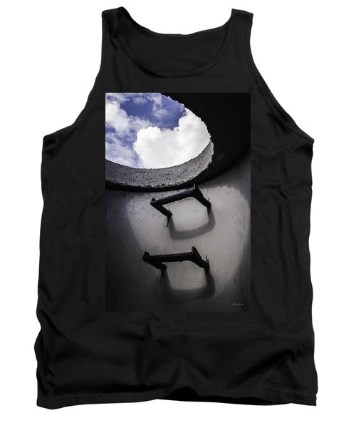 Tank Top featuring the photograph Stairway To Heaven - Inside Out by Steven Milner