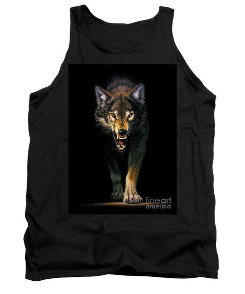 Stalking Wolf Tank Top by MGL Studio - Chris Hiett