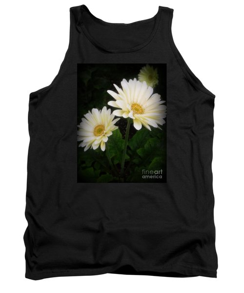 Stand By Me Gerber Daisy Tank Top by Lingfai Leung