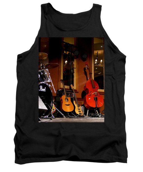 Tank Top featuring the photograph Stand By by Nina Ficur Feenan