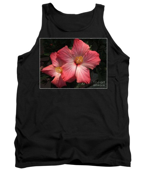 Star Flower Tank Top by Barbara Griffin