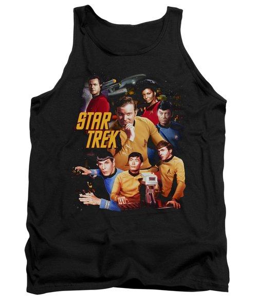 Star Trek - At The Controls Tank Top