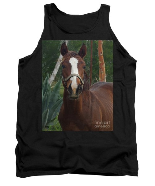 Tank Top featuring the photograph Stared Down by Peter Piatt