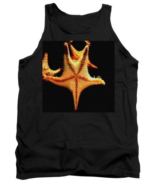 Tank Top featuring the photograph Starfish In Mosaic by Janette Boyd