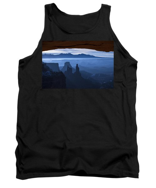 Tank Top featuring the photograph Starlit Mesa  by Dustin  LeFevre