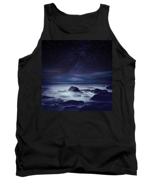 Starry Night Tank Top by Jorge Maia