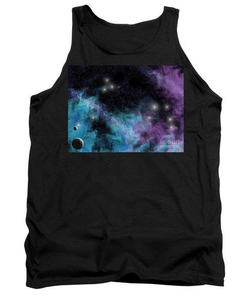 Starscape Nebula Tank Top