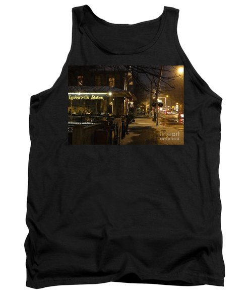 Station In Snow Tank Top
