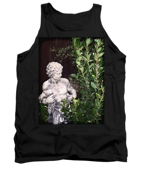 Tank Top featuring the photograph Statue 1 by Pamela Cooper