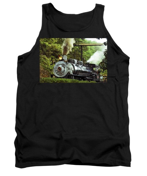 Steam Engine Tank Top by Laurie Perry