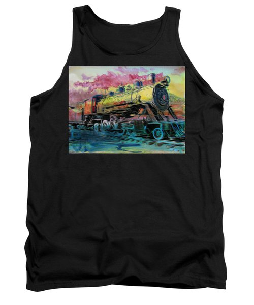 Aaron Lee Berg Tank Top featuring the photograph Steam Powered by Aaron Berg