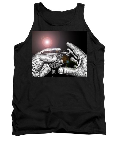 Steelworker's Blues Tank Top by Robert Frederick