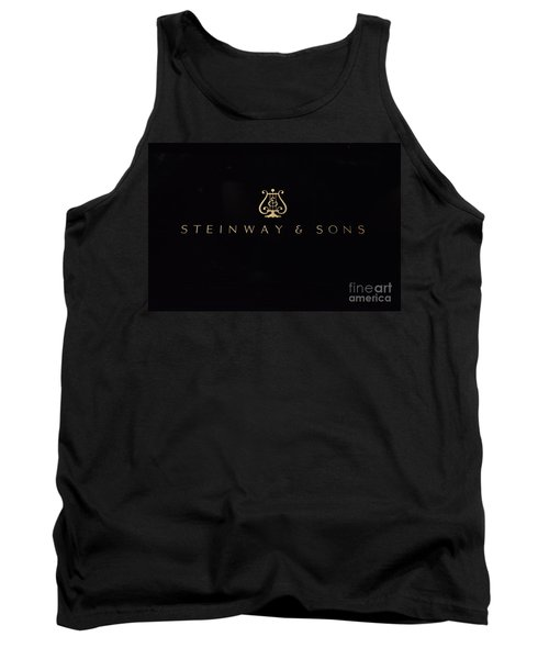 Steinway And Sons Tank Top by David Bearden