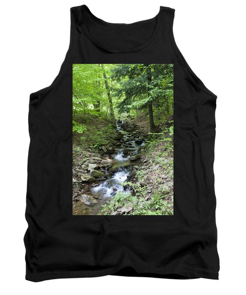 Stepped Water Fall Tank Top