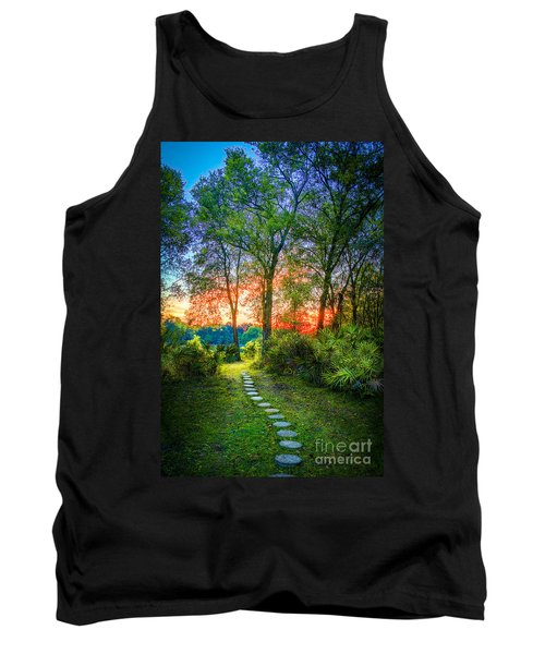 Stepping Stones To The Light Tank Top