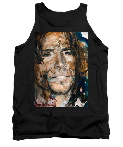 Tank Top featuring the painting Get Your Wings by Laur Iduc