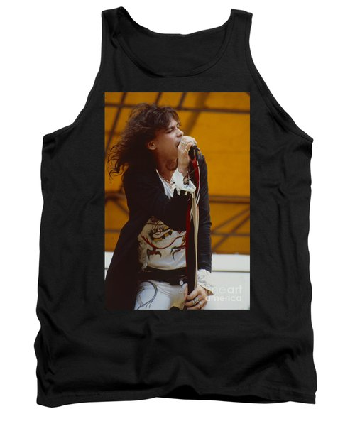 Steven Tyler Of Aerosmith At Monsters Of Rock In Oakland Ca Tank Top