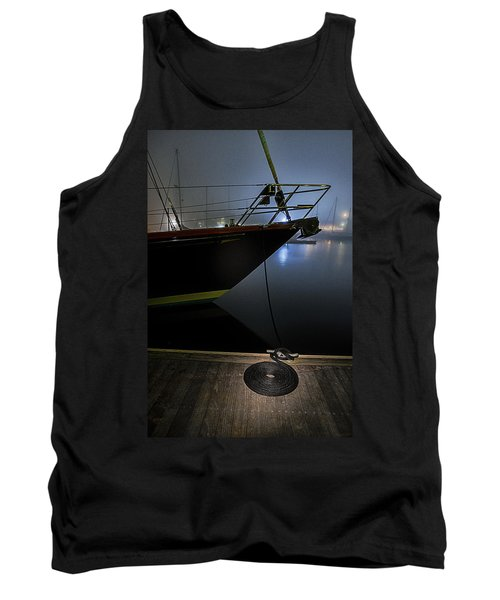 Tank Top featuring the photograph Still In The Fog by Marty Saccone