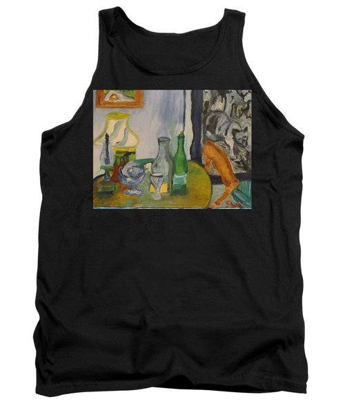 Still Life  With Lamps Tank Top