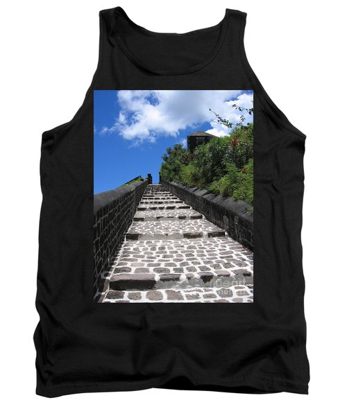 Tank Top featuring the photograph St.kitts - Ascent by HEVi FineArt