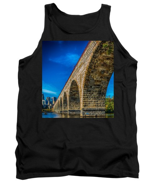 Stone Arch Bridge By Paul Freidlund Tank Top