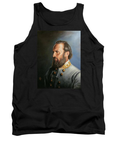 Tank Top featuring the painting Stonewall Jackson by Glenn Beasley