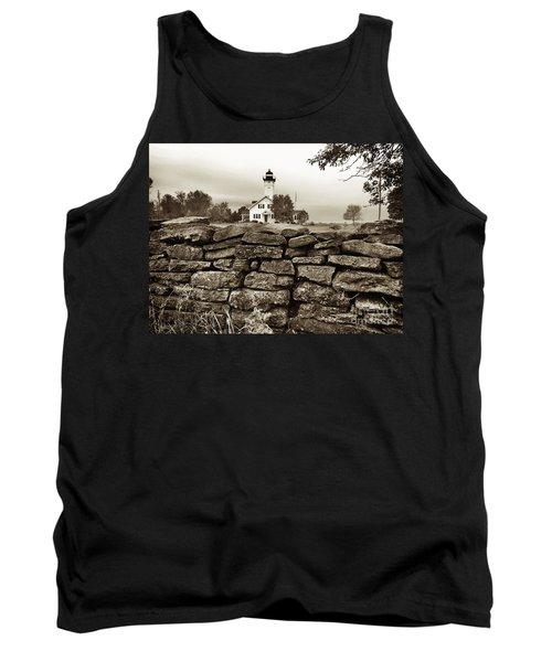 Stony Point Lighthouse Tank Top by Tony Cooper