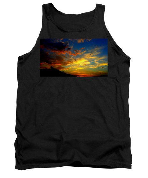 Tank Top featuring the photograph Storm Brings Beauty by Chris Tarpening