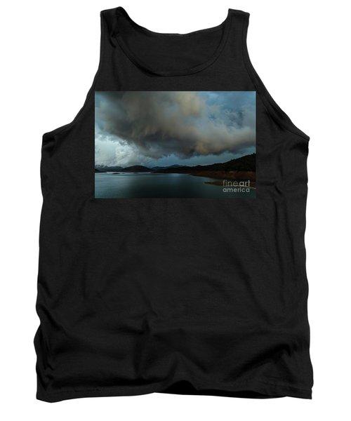 Storm Over Lake Shasta Tank Top