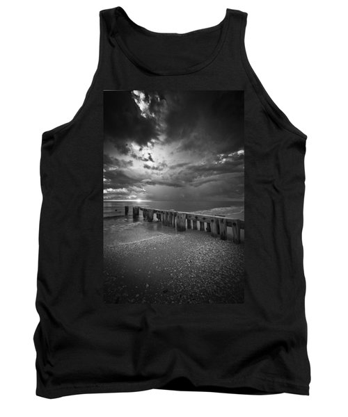 Storm Over Naples Florida Beach Tank Top