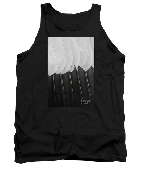 Tank Top featuring the photograph Stormy Feathers by Judy Whitton