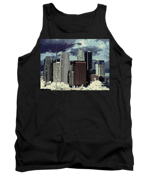 stormy Los Angeles from the freeway Tank Top