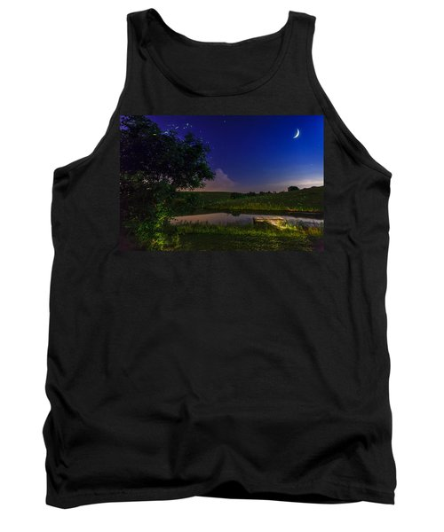 Strangers In The Night Tank Top by Alexey Stiop