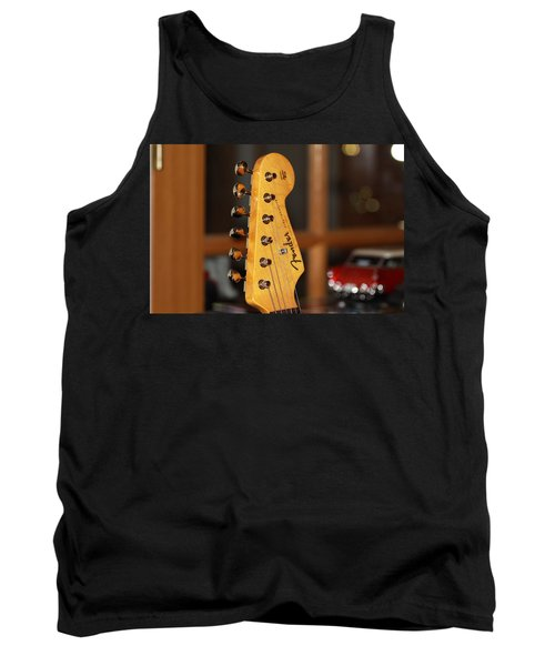 Stratocaster Headstock Tank Top