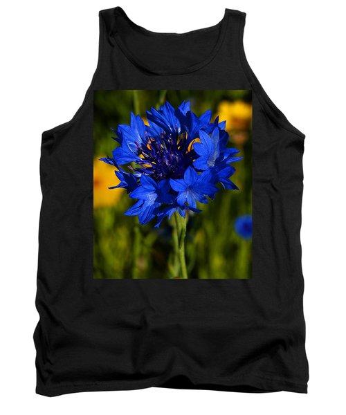 Straw Flower Tank Top
