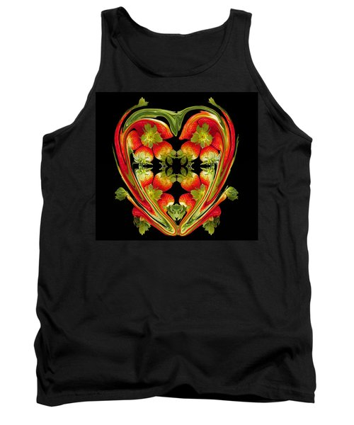 Strawberry Heart Tank Top